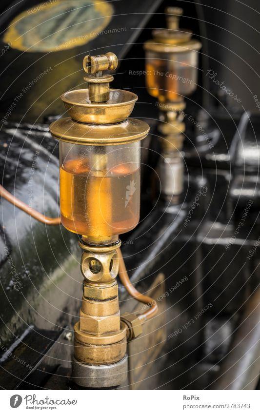 Detail einer Dampfmaschine. Wissenschaften Arbeit & Erwerbstätigkeit Arbeitsplatz Wirtschaft Landwirtschaft Forstwirtschaft Industrie Handwerk Maschine