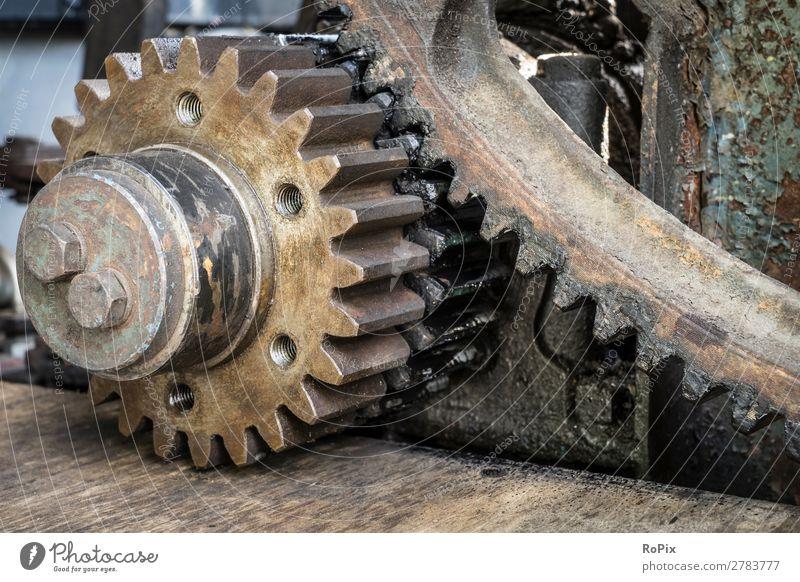 Stirnradgetriebe Arbeit & Erwerbstätigkeit Beruf Handwerker Arbeitsplatz Landwirtschaft Forstwirtschaft Industrie Baustelle Mittelstand Unternehmen Maschine
