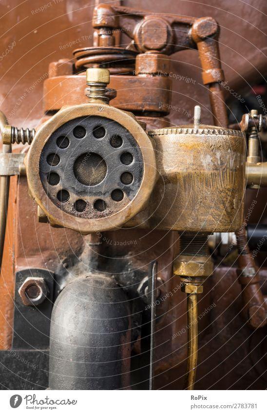 Luftfilter eines Industriedieselmotors. alt Arbeit & Erwerbstätigkeit Freizeit & Hobby Metall Energiewirtschaft Technik & Technologie Klima Landwirtschaft Beruf