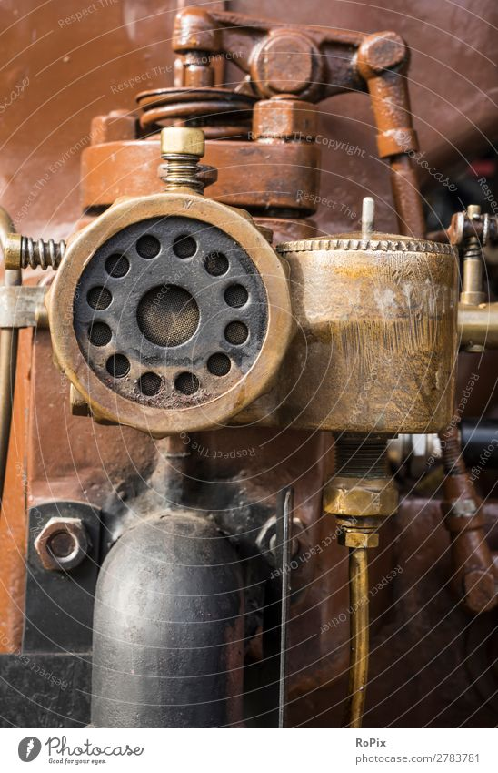 Luftfilter eines Industriedieselmotors. Freizeit & Hobby Arbeit & Erwerbstätigkeit Beruf Handwerker Wirtschaft Landwirtschaft Forstwirtschaft Energiewirtschaft