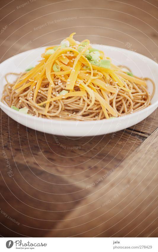 gemüse-pasta Lebensmittel Gemüse Teigwaren Backwaren Nudeln Möhre Porree Sesam Ernährung Mittagessen Bioprodukte Vegetarische Ernährung Asiatische Küche