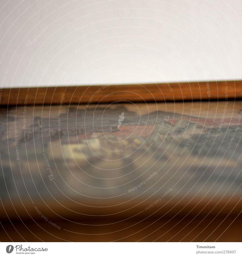Issn dess? dunkel Gefühle Holz Kunst braun ästhetisch Gemälde hängen Maler Bilderrahmen Leinwand