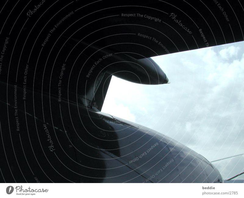 flugzeug Himmel Flugzeug Tragfläche