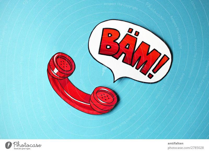Gedankenspiele | Sagen was man denkt! rot Freude Lifestyle Büro Häusliches Leben Zufriedenheit Freizeit & Hobby retro Kommunizieren Geburtstag Telekommunikation