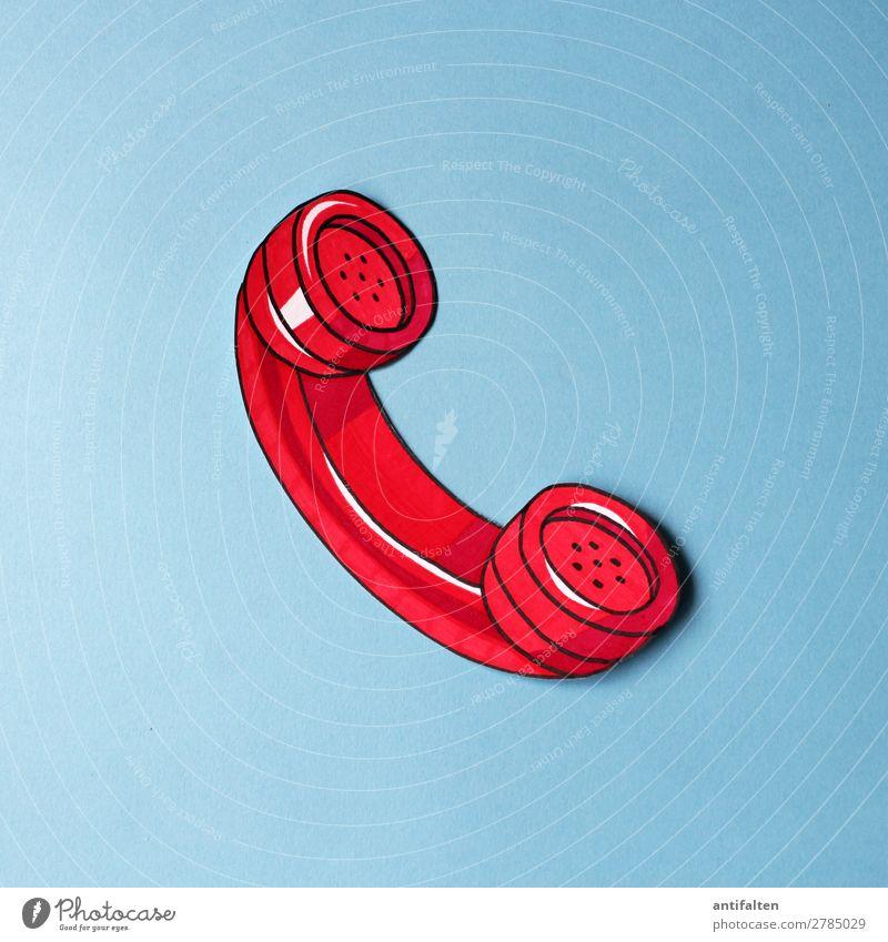 Notruf Lifestyle Design Freizeit & Hobby Basteln zeichnen Zeichnung Telefon Kunst Pop-Art Medien Printmedien Zeichen Schilder & Markierungen Hinweisschild