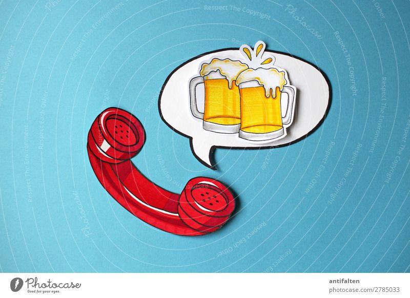 Feierabend-Bier bitte :-) rot Freude Graffiti Gefühle Glück Feste & Feiern Party Stimmung Zufriedenheit Freizeit & Hobby Geburtstag Fröhlichkeit Lebensfreude