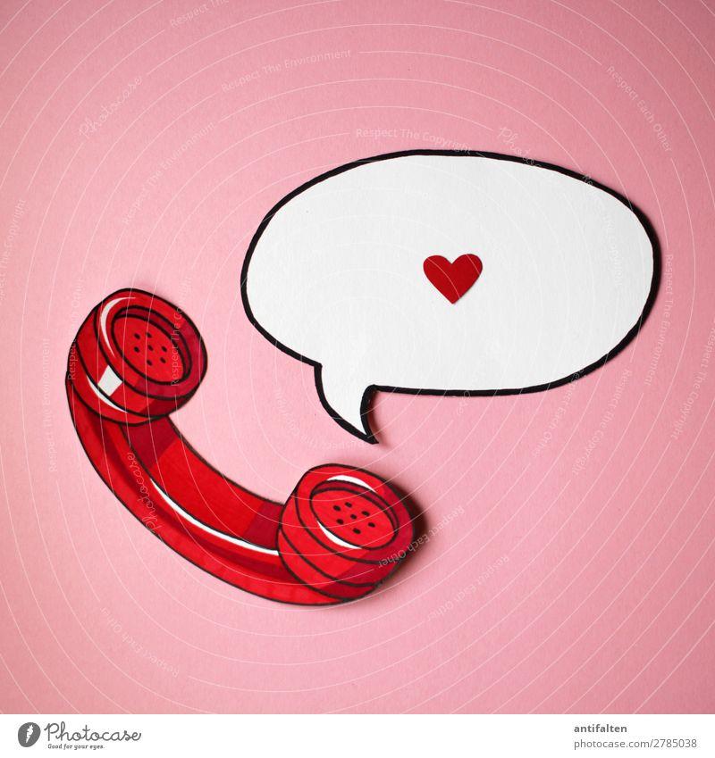 Telefonseelsorge rot Freude Lifestyle Graffiti Liebe Gefühle Feste & Feiern Party rosa Design Freizeit & Hobby Sex Kommunizieren Geburtstag