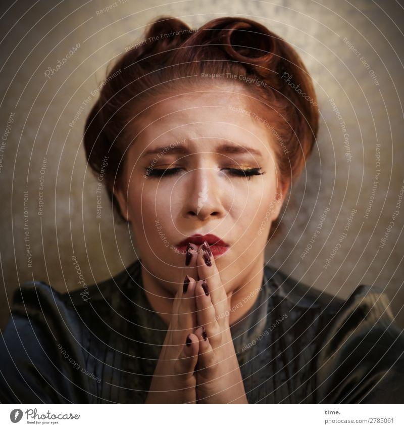 Anastasia Mensch schön Leben feminin Gefühle Zeit Haare & Frisuren Denken Raum Kommunizieren berühren Hoffnung festhalten Glaube Meditation Konzentration