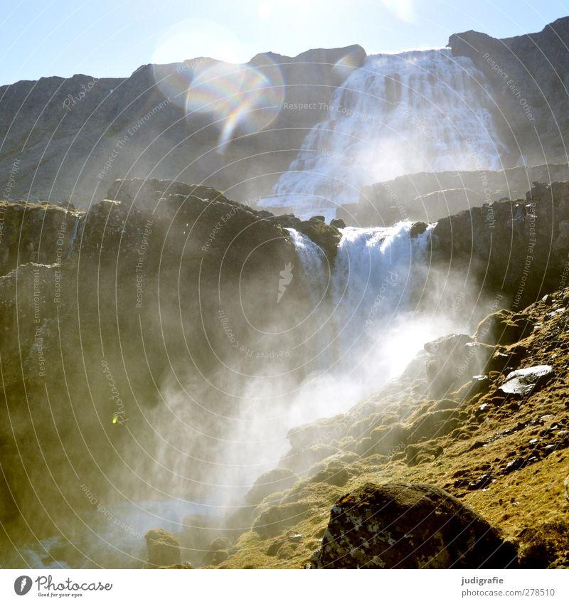 1800 Natur Wasser Landschaft Umwelt kalt Berge u. Gebirge Stimmung Felsen Erde natürlich Klima wild Kraft Urelemente stark Island