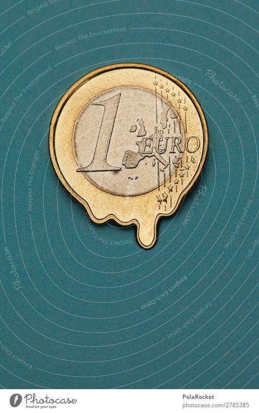 #A# Euro-Inflation Kunst Kunstwerk ästhetisch Finanzkrise Geld Geldnot Geldmünzen Geldkapital Geldgeber Geldverkehr Verfall verfallen verflüssigen Flüssigkeit
