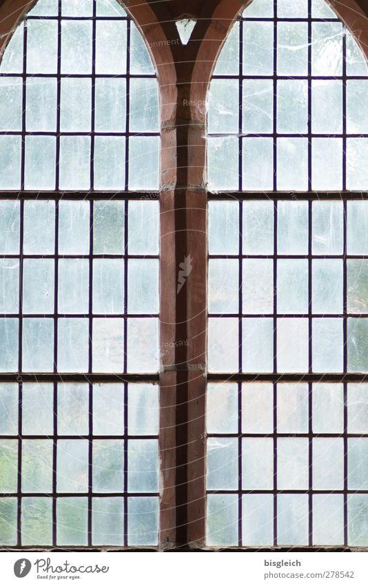 Kloster IX Chorin Bundesadler Europa Kleinstadt Kirche Kloster Chorin Fenster Glas alt blau braun grün Farbfoto Innenaufnahme Muster Menschenleer Licht
