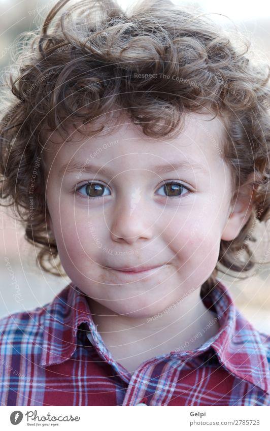 bezaubernder glücklicher Junge lächelnd Freude Glück schön Spielen Kind Mensch Baby Kleinkind Familie & Verwandtschaft Kindheit blond Lächeln Freundlichkeit