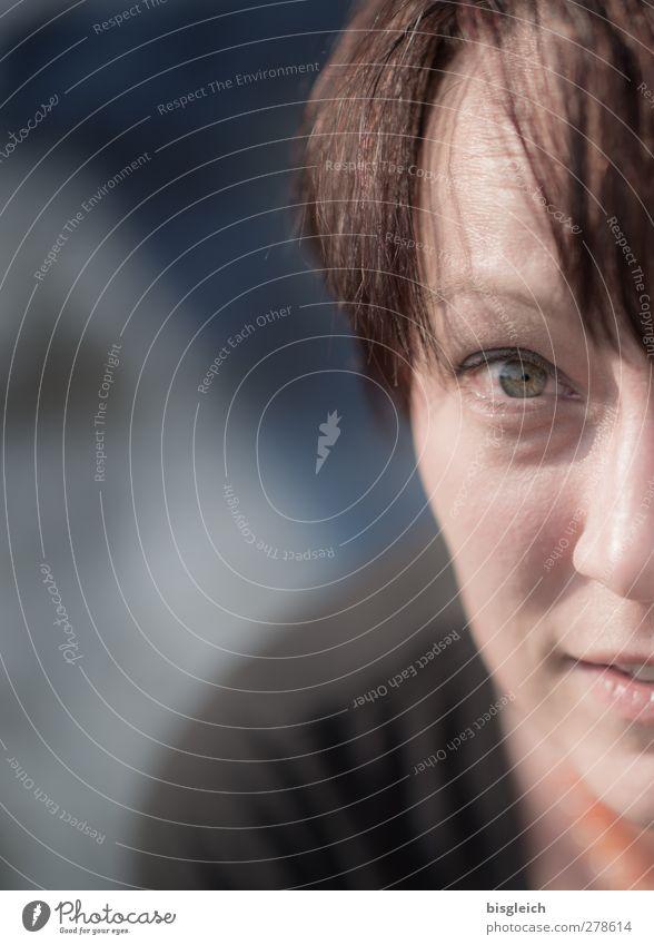 guckst du Mensch Frau Erwachsene Gesicht Auge maskulin brünett 30-45 Jahre