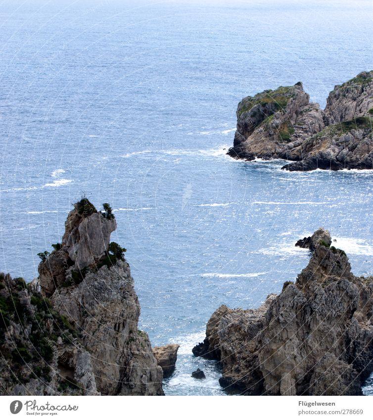 Klippen Ferien & Urlaub & Reisen Tourismus Ausflug Abenteuer Ferne tauchen Wellen Küste Seeufer Flussufer Strand Bucht Fjord Riff Korallenriff Nordsee Ostsee