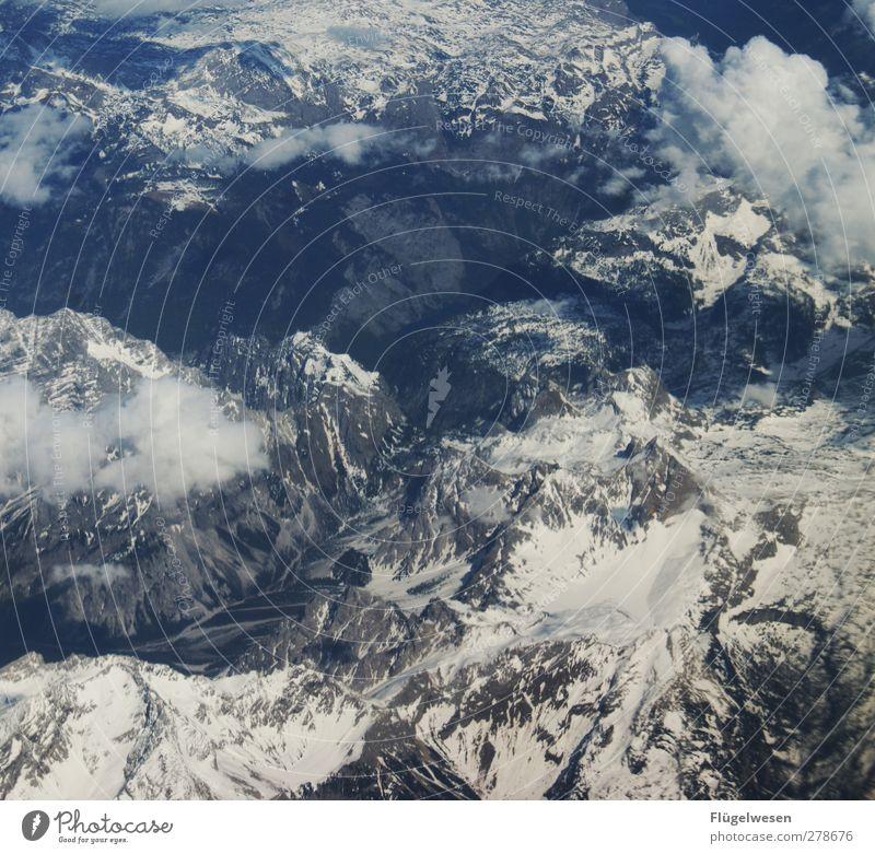 Andrea(s) Berg Ferien & Urlaub & Reisen Himmel (Jenseits) Ferne Winter Berge u. Gebirge Schnee Lifestyle Freiheit Felsen Tourismus Eis Freizeit & Hobby Ausflug