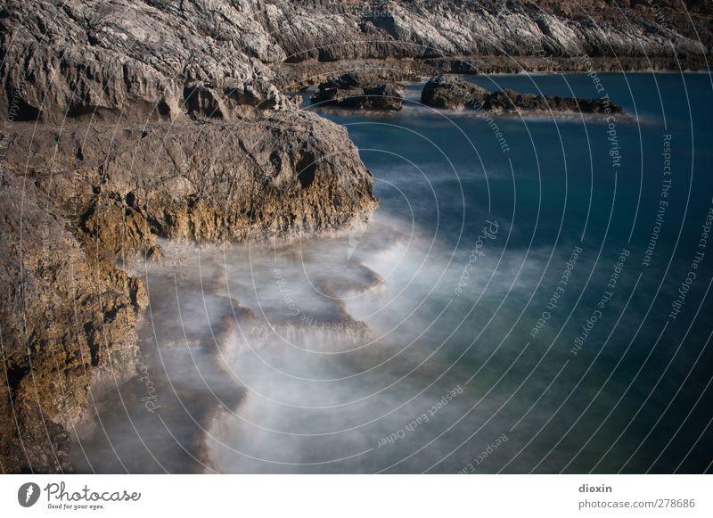 The Water Natur Ferien & Urlaub & Reisen Wasser Sommer Sonne Meer Landschaft Ferne Umwelt Küste Freiheit Felsen Wellen Erde Insel Ausflug