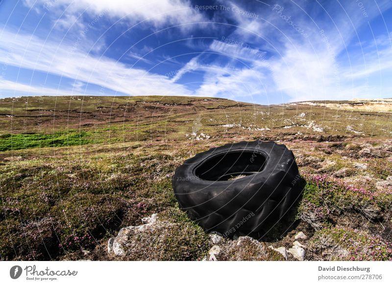 Ins Eckige, nicht in das Landschaftliche! Himmel Natur blau grün weiß Sommer Pflanze Tier Wolken schwarz Berge u. Gebirge Gras Frühling Stein Felsen