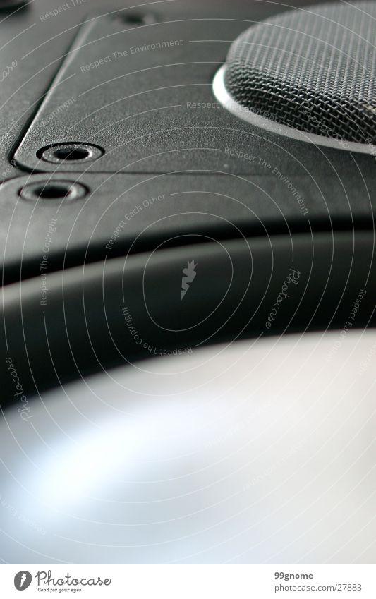 Spirit of Sound Zoomeffekt Lautsprecher Hochtöner schwarz Membran Draht Unschärfe Entertainment Makroaufnahme Tieftöner silber