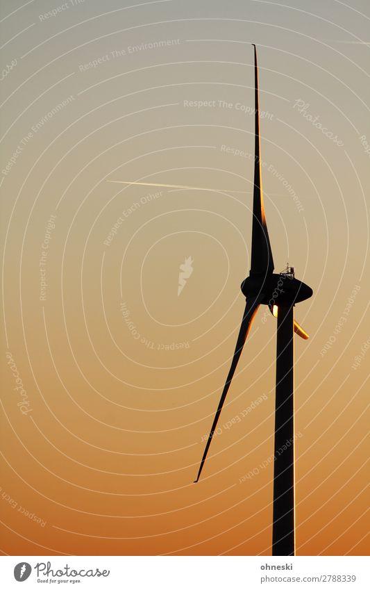 Klimawandel Wissenschaften Fortschritt Zukunft Energiewirtschaft Erneuerbare Energie Windkraftanlage Energiekrise Farbfoto Außenaufnahme Luftaufnahme