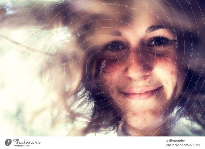 be nice (II) Mensch Frau Jugendliche schön Freude Erwachsene feminin Leben Junge Frau Gefühle Haare & Frisuren Glück Kopf Stimmung 18-30 Jahre Zufriedenheit