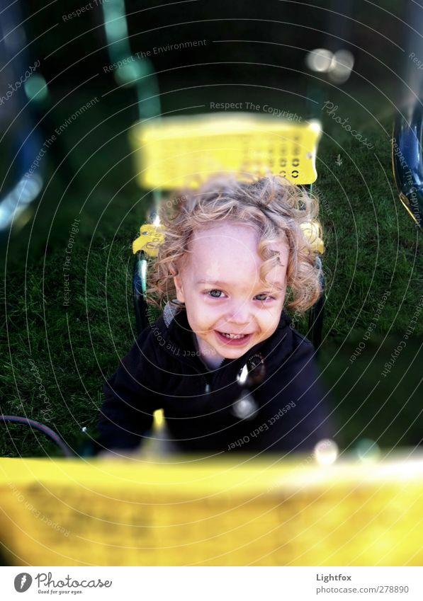 Fri Fra Freude Mensch Kind grün Leben Gefühle Glück Kindheit Spielzeug Kleinkind Kindergarten 1-3 Jahre