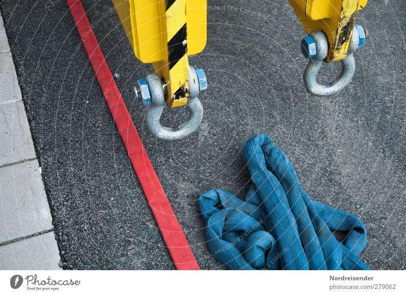 Technisch Metall Arbeit & Erwerbstätigkeit Hinweisschild Streifen planen Sicherheit Technik & Technologie Industrie Baustelle Güterverkehr & Logistik Zeichen