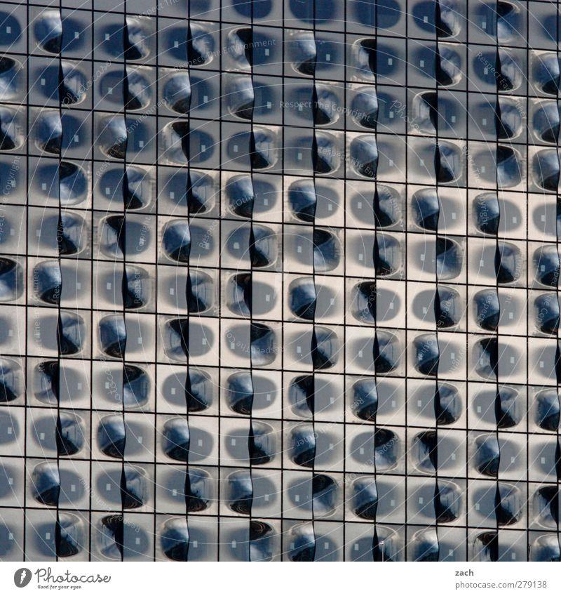Fertigstellung 2015 Stadt kalt Architektur Gebäude grau Linie Fassade Glas ästhetisch Zukunft Hamburg Bauwerk Sehenswürdigkeit Theater Hafenstadt Opernhaus