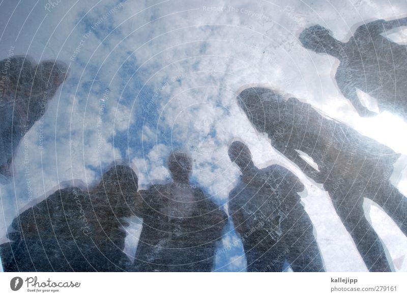 zielgruppe Mensch maskulin feminin 6 Menschengruppe 18-30 Jahre Jugendliche Erwachsene Zielgruppe Marketing anonym Silhouette Himmel (Jenseits) Wolken Blick