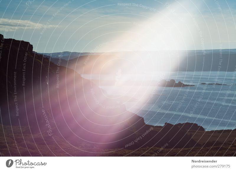 Touch.... Natur Meer Landschaft Berge u. Gebirge Leben Stimmung außergewöhnlich Streifen Macht Wandel & Veränderung Hoffnung geheimnisvoll Glaube Meditation