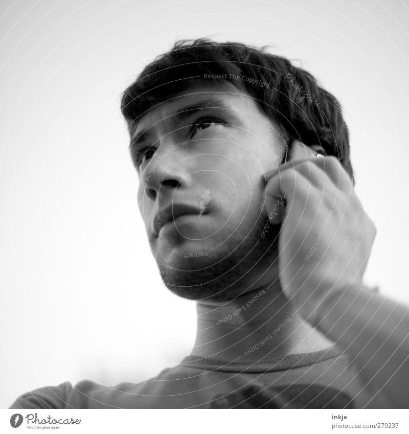 Nicolas macht schonmal das Frühstück klar ( für alle! ;-)) Mensch Jugendliche Erwachsene Gesicht Junger Mann 18-30 Jahre Leben Gefühle Stil Freizeit & Hobby