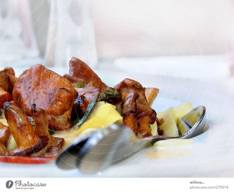 gerüchteküche [mit geheimer botschaft] Gesunde Ernährung Appetit & Hunger lecker Duft Pilz Nudeln Mittagessen Backwaren Teigwaren Besteck Vegetarische Ernährung