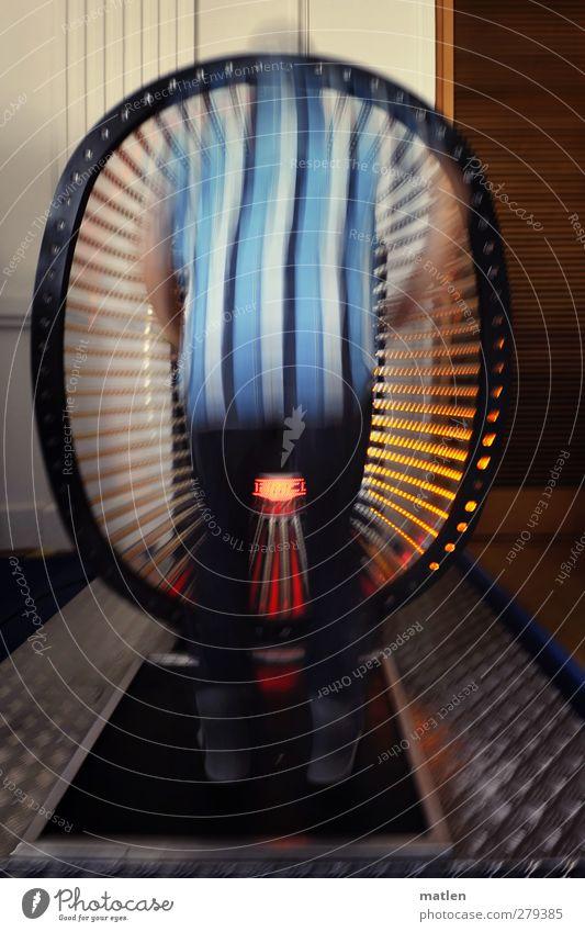 Das 200.Mal des Auf und Ab Fitness Sport-Training Springen Maschine Unterhaltungselektronik Mensch maskulin Junger Mann Jugendliche 1 18-30 Jahre Erwachsene