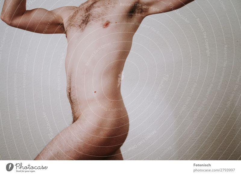 A Donis 1 Körper Mensch maskulin Junger Mann Jugendliche Oberkörper 18-30 Jahre Erwachsene Behaarung Diät ästhetisch authentisch Erotik schön nackt natürlich