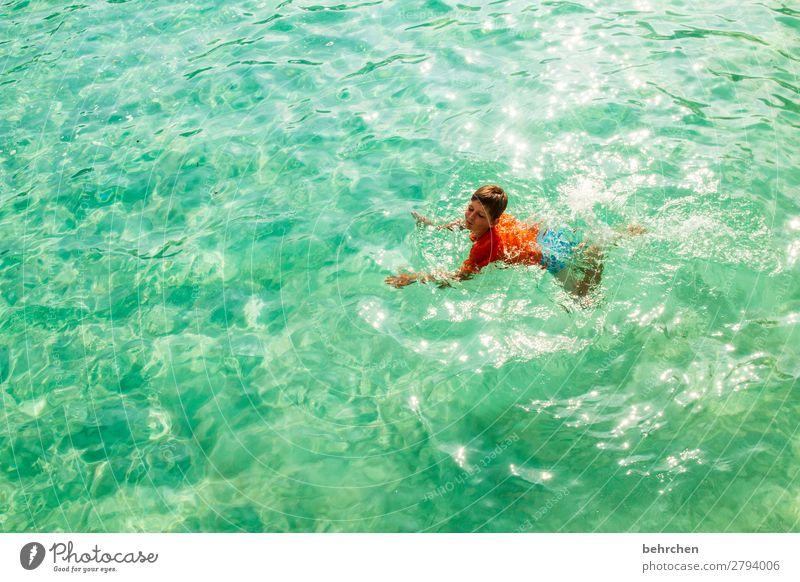 herausragend | kopf hoch! Ferien & Urlaub & Reisen Tourismus Ausflug Abenteuer Ferne Freiheit Kind Junge Kindheit Körper Kopf Haare & Frisuren Gesicht Arme