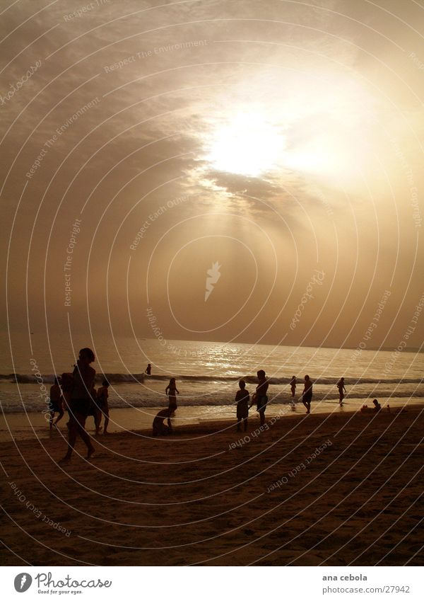 See4 Strand Sonnenuntergang Natur Wasser Sand