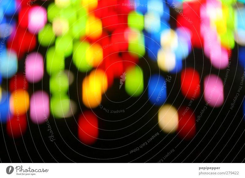 300! Nachtleben Party Stadt Ornament Graffiti Linie Streifen Bewegung leuchten glänzend mehrfarbig Energie Farbe Stimmung Neonlicht Außenaufnahme