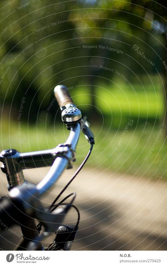 On Tour Freude sportlich Fitness Leben Wohlgefühl Freizeit & Hobby Fahrradtour Park fahren Sport Freundlichkeit Gesundheit Glück positiv grün entdecken Idylle