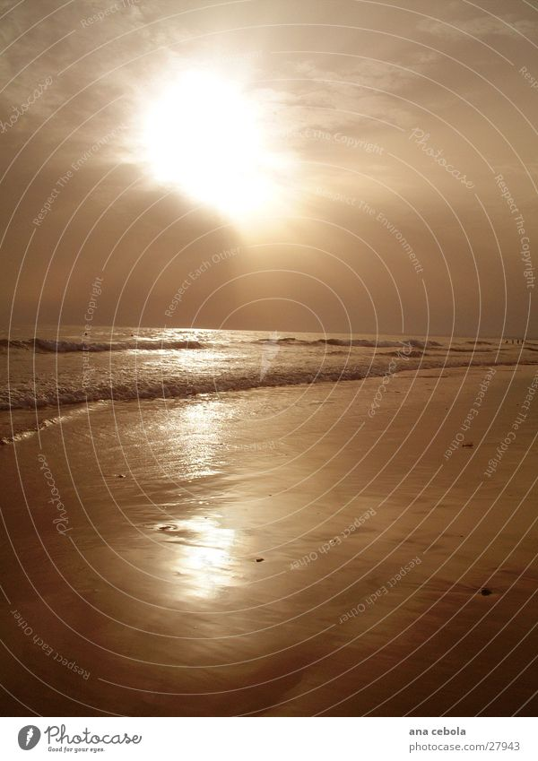 See2 Strand Sonnenuntergang Natur Wasser Sand