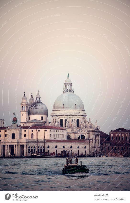 Goes Down. Ferien & Urlaub & Reisen ruhig Kunst Reisefotografie Tourismus ästhetisch Idylle Dach Italien historisch Sehenswürdigkeit verträumt Kathedrale Venedig Fähre Kuppeldach