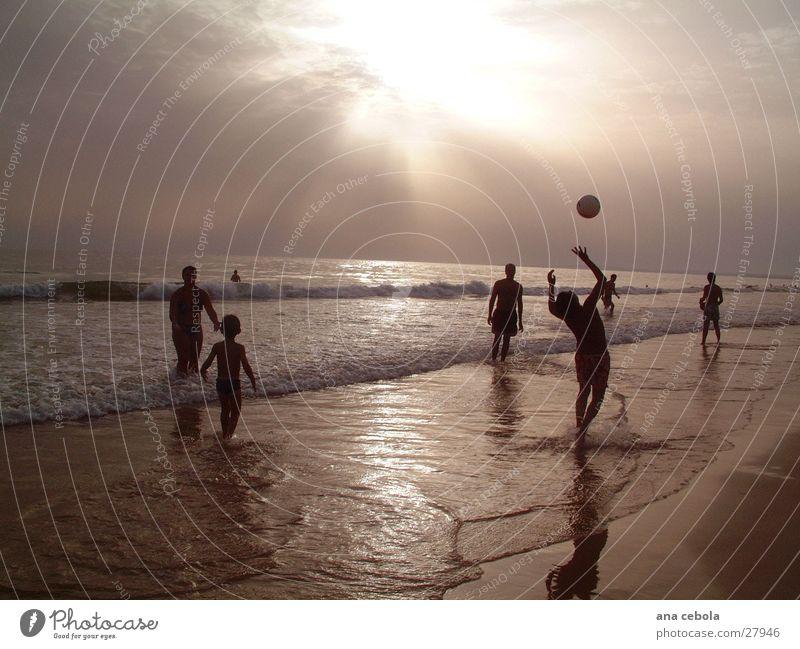 Strand 3 Natur Wasser Sand