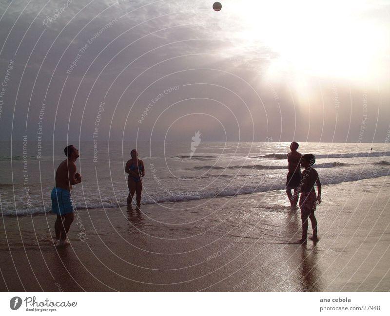 Strand 1 Natur Wasser Sand