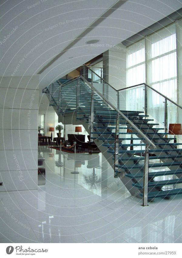 Stairway Hotel oporto 2 weiß Kunst Architektur modern Platz