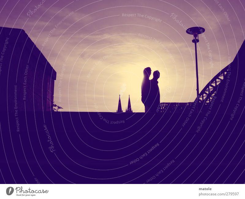 SPITZEN-AUSSICHT_01 Mensch Himmel Ferien & Urlaub & Reisen Sommer Sonne Wolken Erwachsene Landschaft feminin Zusammensein Freizeit & Hobby maskulin Tourismus