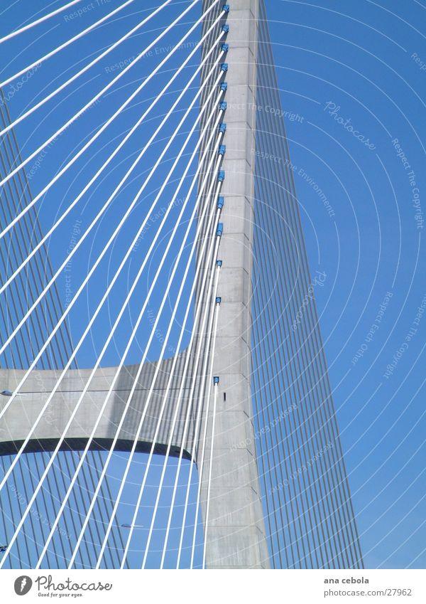 Lissabon bridge 3 Himmel Architektur Brücke modern wirklich Lissabon
