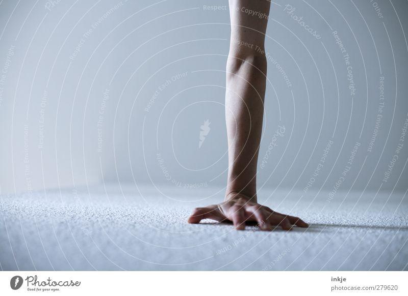 Handstand Mensch Hand Leben Sport Spielen Gefühle Bewegung Kraft Freizeit & Hobby Zufriedenheit Arme stehen Fitness Konzentration sportlich Kontrolle
