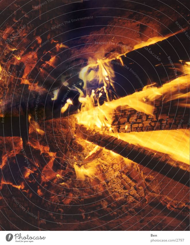 Feuer rot gelb Physik Feuerstelle Brand Flamme Garten Teile u. Stücke Wildtier Wärme