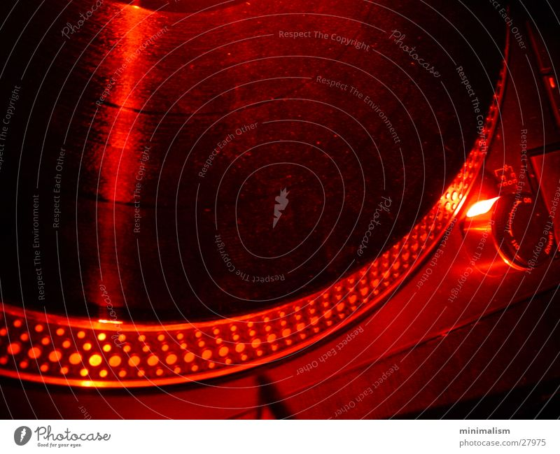 groove rot Technik & Technologie Club Radio Foyer Plattenspieler