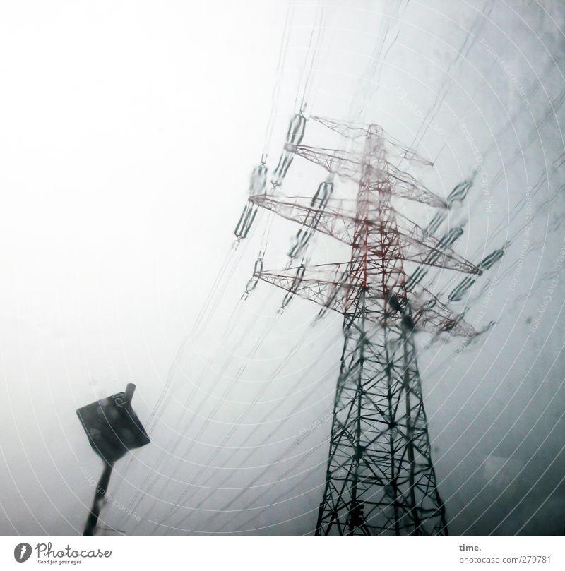 Hamburchwedda Himmel Wasser dunkel Regen Wind Angst wild Energiewirtschaft Abenteuer Technik & Technologie bedrohlich Vergänglichkeit Risiko Sturm Respekt
