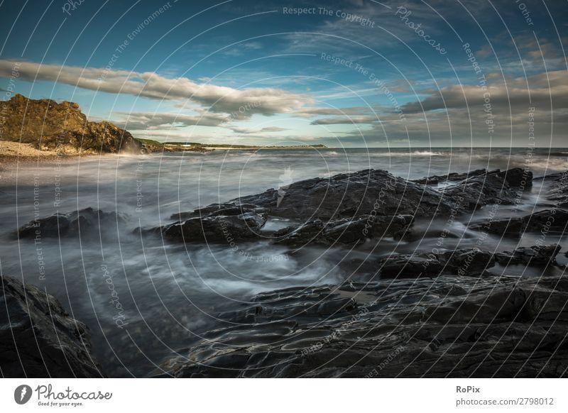 Früher Morgen in Schottland Ferien & Urlaub & Reisen Tourismus Ferne Freiheit Sightseeing Sommer Sommerurlaub Strand Meer Schwimmen & Baden tauchen Umwelt Natur