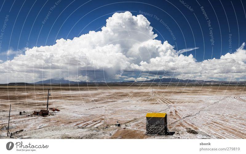Altiplano Umwelt Natur Landschaft Urelemente Erde Sand Luft Himmel Wolken Gewitterwolken Sonne Klima Wetter Schönes Wetter schlechtes Wetter Sturm Wüste wandern